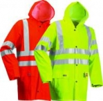 Hi Vis Flame Retardant Rainwear Jacket