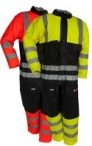 Microflex flame -retardant HI-VIZ  winter coverall